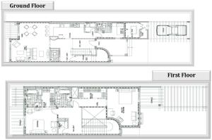 2 Townhouse Floorplans