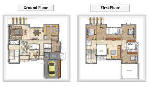 3 Bed Layout