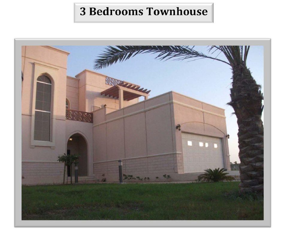 my house at kaust 3 bedroom townhouse