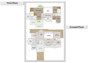 Four Bed Layout
